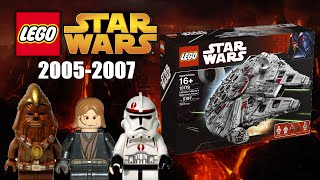 ALL LEGO Star Wars sets overview! (2005-2007)