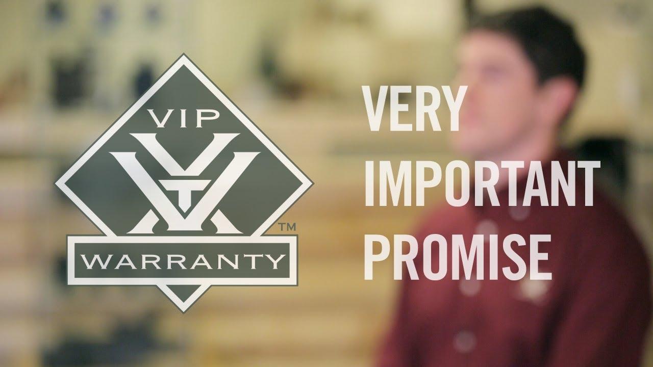 The VIP Warranty | Vortex Optics - YouTube
