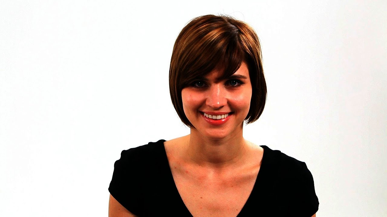 Best Short Haircuts For A Round Face