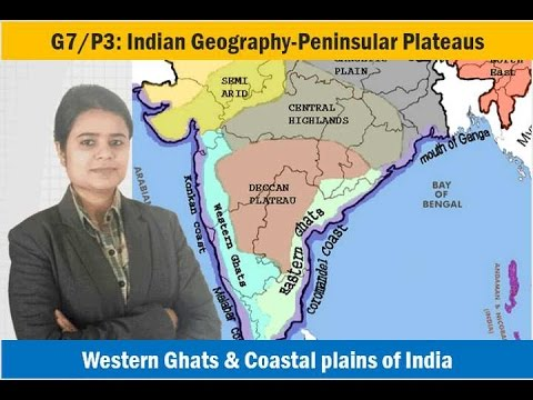 G7/P3: Indian Geography-Peninsular Plateaus