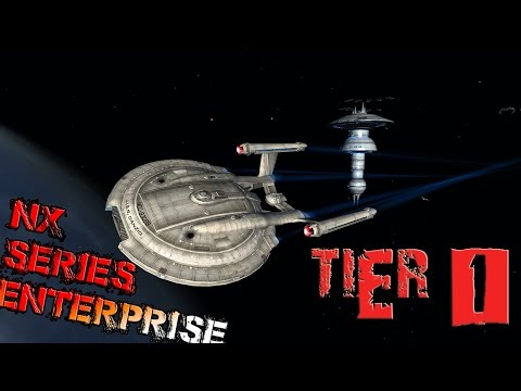 NX Series Enterprise [T1] with all ship visuals - Star Trek Online
