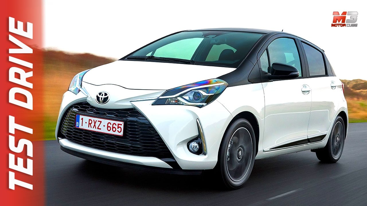 NEW TOYOTA YARIS  HYBRID 2017  FIRST TEST DRIVE  YouTube