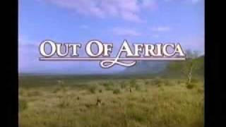 John Barry - Out of Africa:  Opening titles and main theme