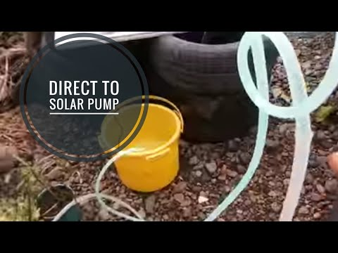 direct to solar pump