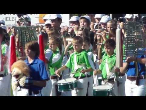 Konzert aller Nachwuchsspielmannszüge beim Radeberger Musikfest 2012
