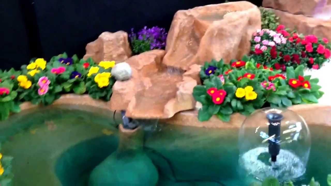 Laghetto guadalupa giardini d 39 acqua youtube for Laghetto i giardini