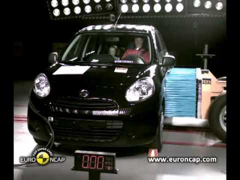 Teste de segurança do novo Nissan March 2012 - Carros Tube
