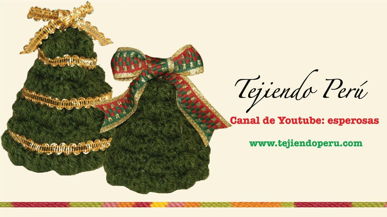 Rbol de navidad en crochet parte 1 youtube - Tutorial arbol de navidad ...