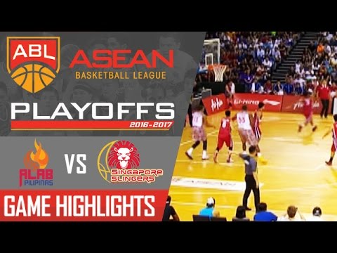 Alab Philippines vs Singapore Slingers | Game Highlights | ABL |   April 2, 2017