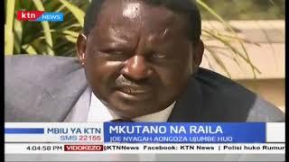 Raila aelezea kwa nini alifanya kikao na viongozi wa Embu