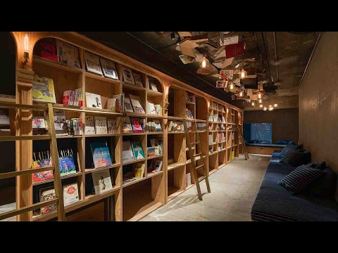 Library-themed Tokyo hotel is booklovers' paradise
