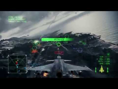 Ace Combat Infinity - Operation Bunker Shot (Gripen C - S Rank)