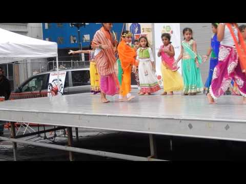 Diwali Celebrations at Exchange Place, Jersey City, New Jersey