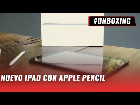 Apple iPad 2018 + Apple Pencil - #Unboxing en español