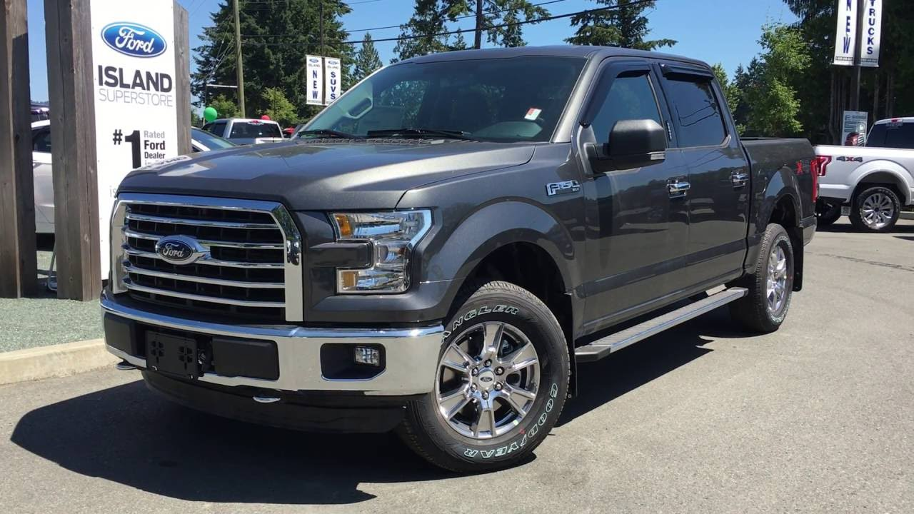 2016 ford f 150 xlt xtr fx4 supercrew 4x4 v8 review island ford youtube. Black Bedroom Furniture Sets. Home Design Ideas