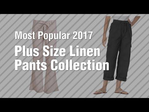 Plus Size Linen Pants Collection // Most Popular 2017