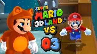 Let's Race: Super Mario 3D Land - Episode 3: Well Well Well How The Turntables!
