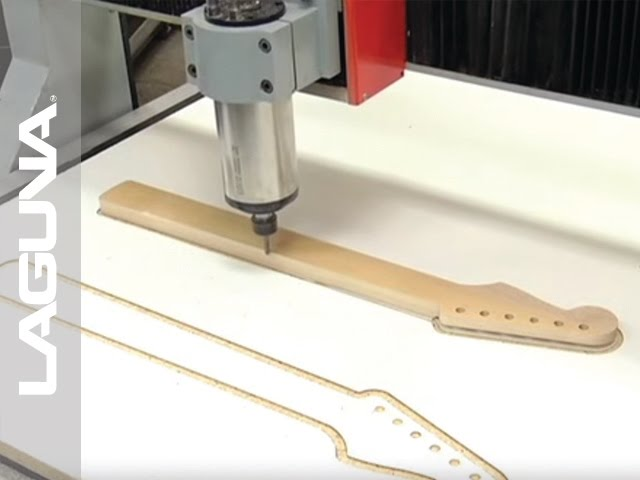 Creating a Guitar Neck: Swift CNC Router by Laguna Tools