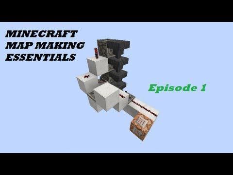 Minecraft Map Making Redstone Essentials Hopper Key