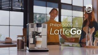 Philips LatteGo: příprava kávy u...