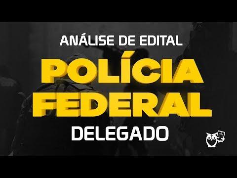 Concurso PF: Análise de Edital Delegado 2018 - YouTube
