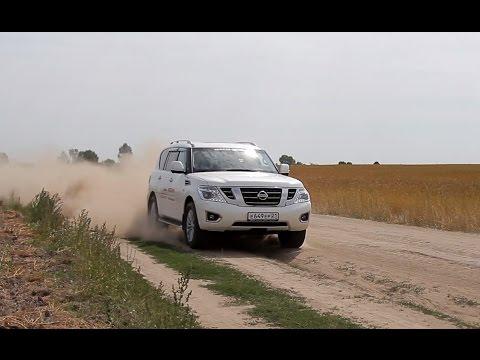 Nissan Patrol Тест драйв.Anton Avtoman.