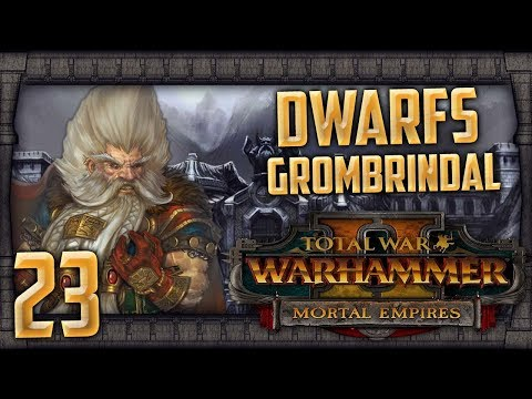 THE BLACK PYRAMID OF NAGASH! | WARHAMMER II - Mortal Empires (Dwarfs) #23