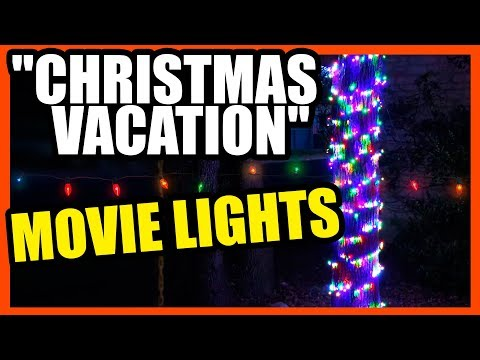 """Christmas Vacation"" Movie Lights Review"