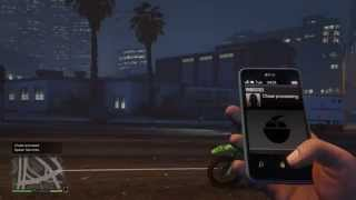 GTA 5 Sanchez dirt-bike Cell phone cheat code PS4 & XBOX ONE Gameplay NEW
