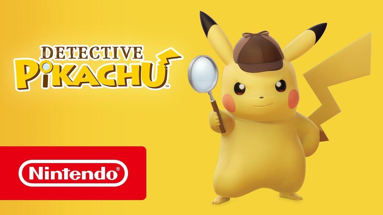 Detective Pikachu Launch Trailer Nintendo 3ds Youtube