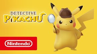 Detective Pikachu - Launch Trailer (Nintendo 3DS)