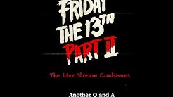 The Friday The 13th Part 2 Snowboard Live Stream