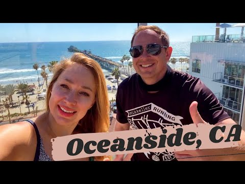 OCEANSIDE CALIFORNIA - EXPLORING the NEW DOWNTOWN, TOP GUN HOUSE, and PIER! #travelvlog