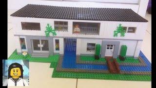 LEGO - Como Construir uma Casa Grande de Lego 2