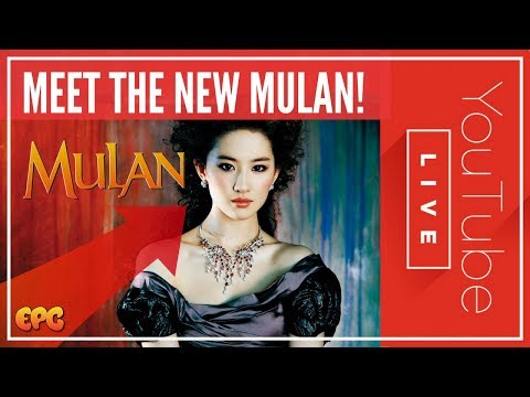 🔴 Chinese Actress Liu Yifei Cast as Disney's Mulan! Sat Morn Disney Talk Live