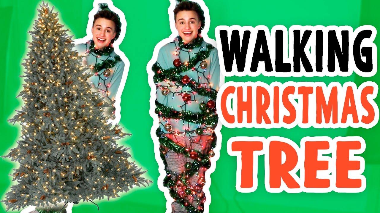 Wonderful Walking Christmas Tree Part - 12: 150 LB WALKING CHRISTMAS TREE