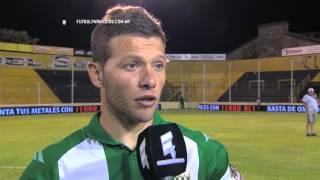 """Domingo: """"Debíamos ganar por nosotros"""". Olimpo 1 - Banfield 2. Fecha 30. Primera División 2015. FPT."""