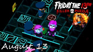 Friday the 13th Killer Puzzle Daily Death August 13 2020 Walkthrough