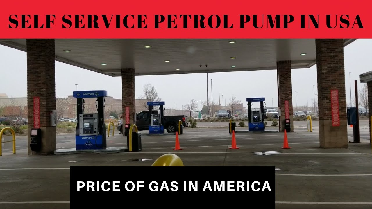 Self Service Petrol Pump | How To Fill Gas In Cars In America | Petrol  Price in USA|Lifestyle In USA