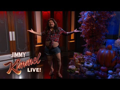 Randi West - Jimmy Kimmel celebrates Halloween