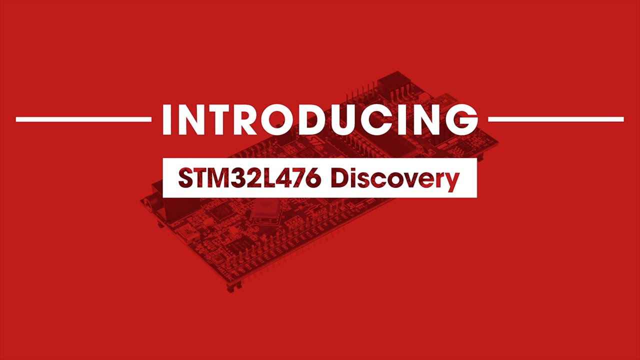 Creating a Radar Speed Detector with a STM32L476 Discovery board