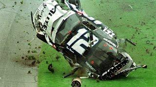 Ryan Newman Flip/Pit Crash - NASCAR 2003 Daytona 500