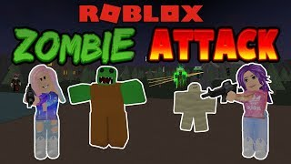 Roblox: Zombie Attack / Unstoppable! / Janet and Kate