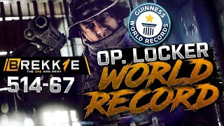 BF4: 514-67 LOCKER ULTIMATE RECORD - Operation locker gameplay - Twitch highlight