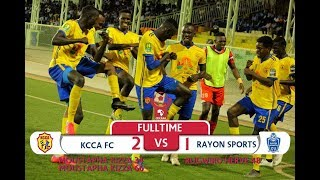 CECAFA KAGAME CUP 1/4: KCCA 2-1 RAYON SPORTS (Highlights)