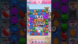 Candy Crush Saga Level 1458 - No Boosters