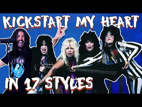 Jeff Cage - The 10 Second Songs Guy Takes on Motley's Kickstart My Heart in 17 Styles