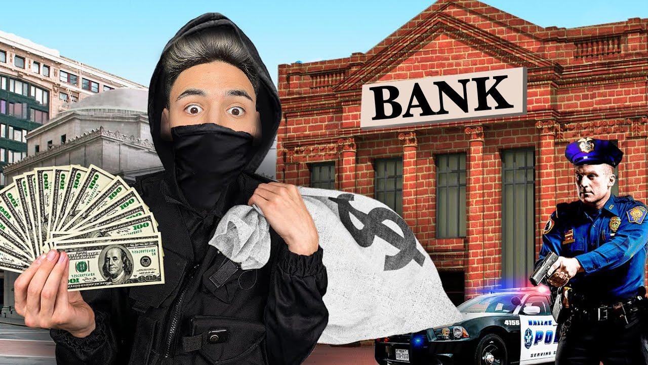 Extreme BANK-RAUB in 60 MINUTEN - Challenge