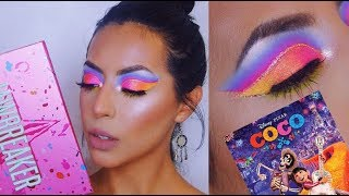 COCO DISNEY LOOK USING JEFFREE STAR JAWBREAKER PALETTE UNBOXING | EMMA LEE
