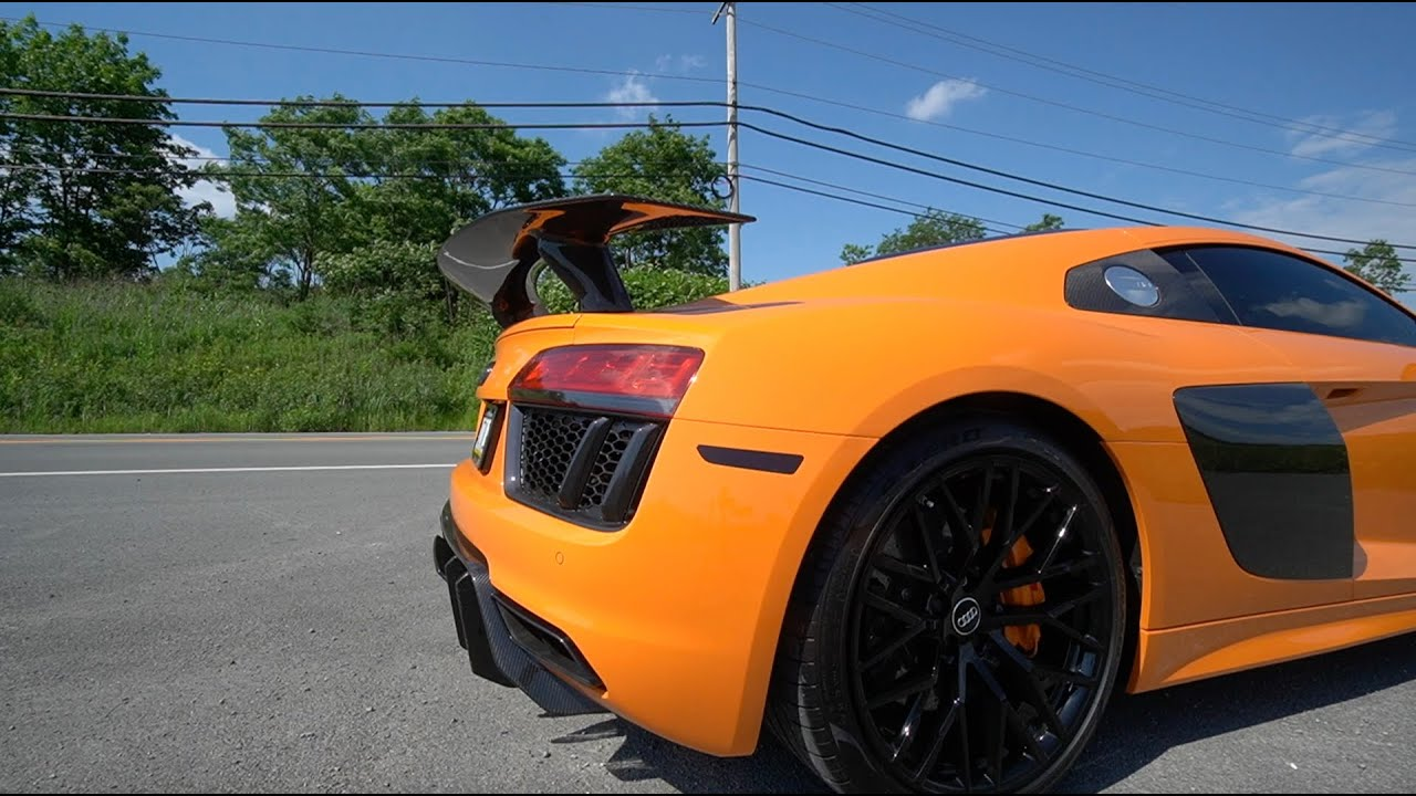 You Will Either Love or Hate This.. Crackle Tune For My R8!